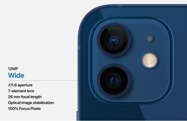 iPhone 12 задна камера