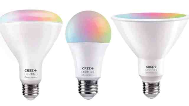 Евтини крушки Cree Connected Lighting Max за Умен Дом