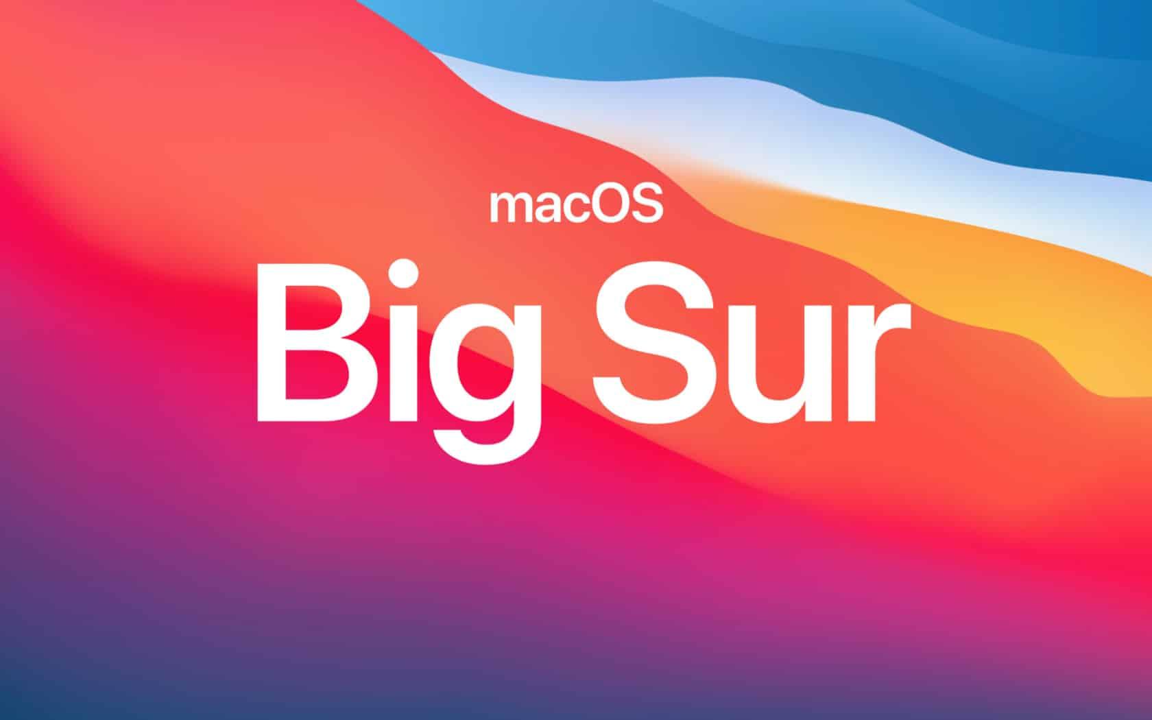 macOS 11 Big Sur – какво ново?