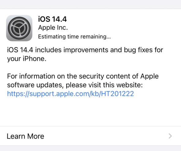 Apple iOS 14.4 поправя ключови грешки в сигурността – инсталирайте веднага