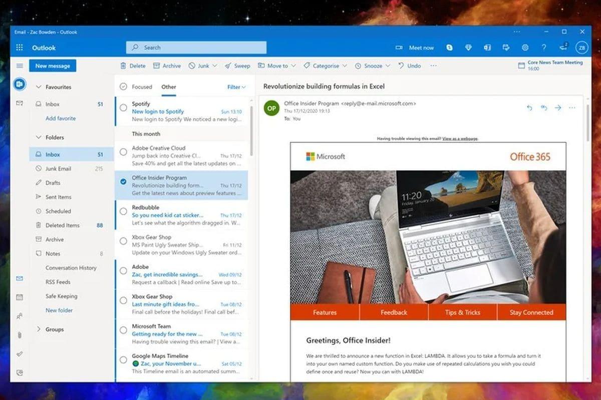 One Outlook – как Microsoft вижда бъдещето на Windows