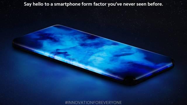 Xiaomi телефон с извит екран във всички краища