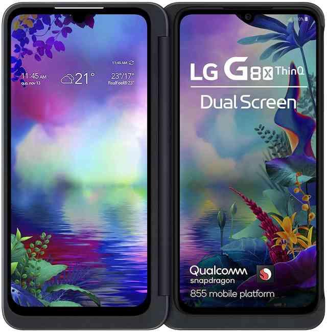 Един от емблематичните телефони на LG - LG G8X ThinQ