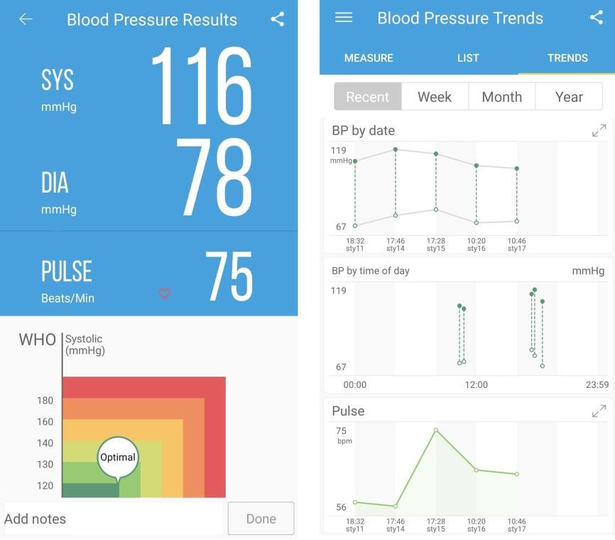 Aplikacja iHealth do bezprzewodowego ciśnieniomierza iHealth
