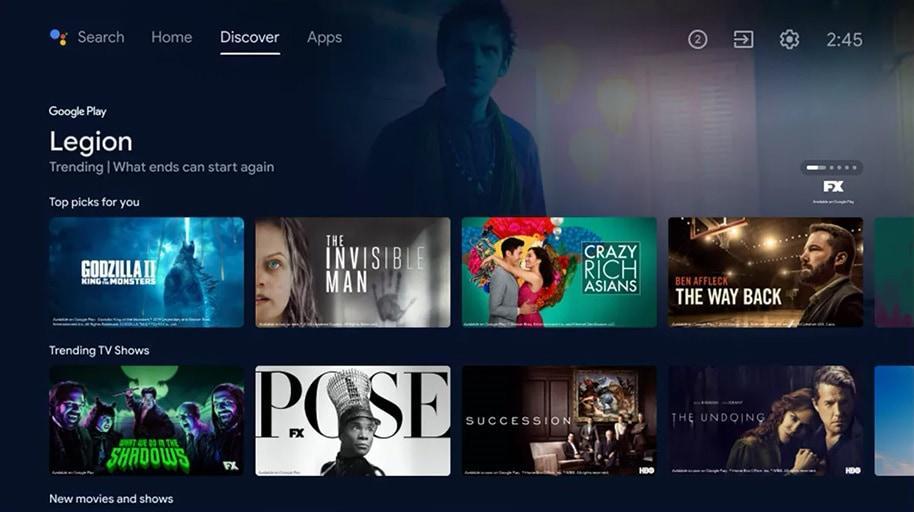 android tv aktualizacja