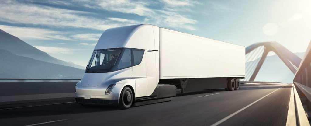 Tesla Semi kamio