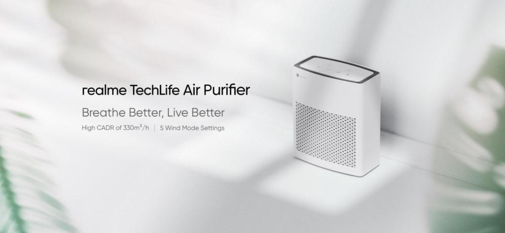 Realme techlife õhupuhasti