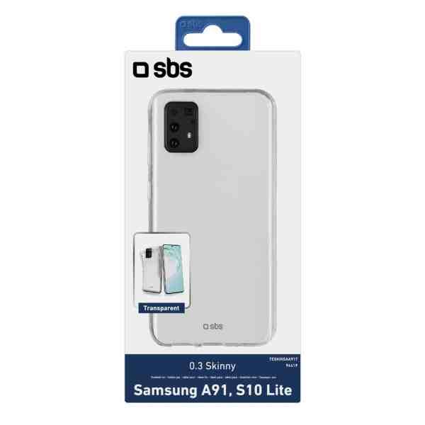 Samsung Galaxy A91/S10 Lite Maskica SKINNY - Transparentna