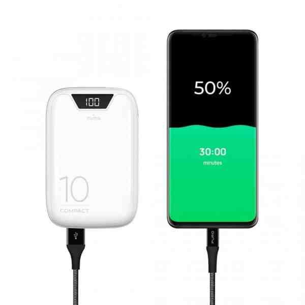 Eksterna Baterija FAST CHARGER COMPACT DISPLAY 10.000 mAh