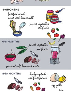 Baby food stages chart smartmom also the rh