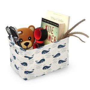 storage basket for self-care kit