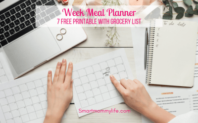 Free Printable Weekly Meal Planner With Grocery List