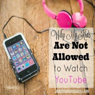 Why my children are not allowed to watch YouTube videos