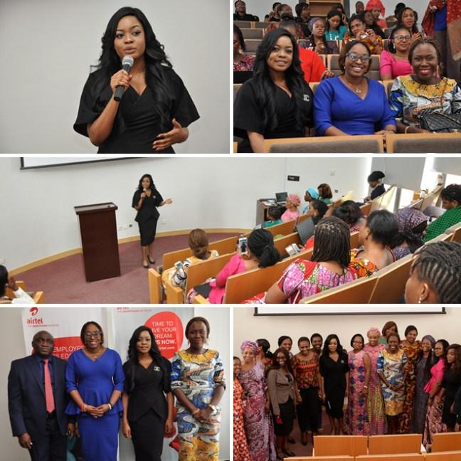 arese ugwu, airtel, international womens day