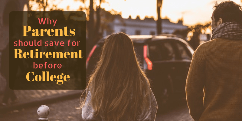 Why Parents Should Save for Retirement Before College