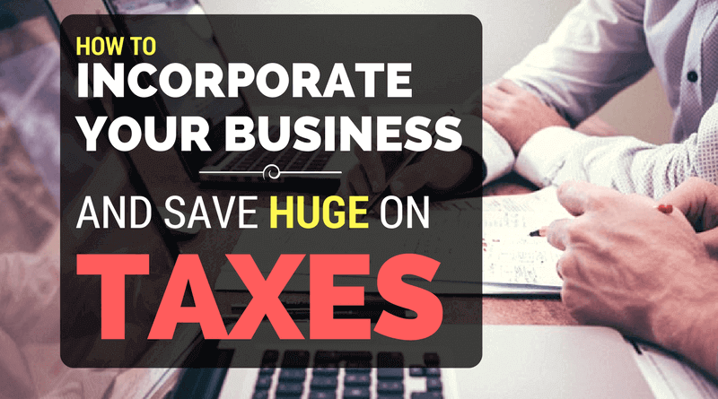 Incorporate Your Business and Save on Taxes