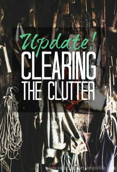 clearing the clutter update