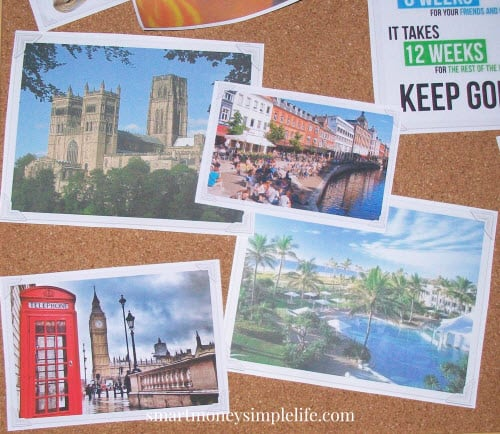 vision board travel destinations
