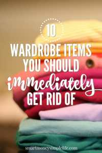 10 wardrobe items you can get rid of immediately
