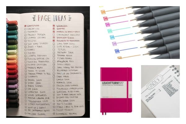 How to start a bullet journal and customise how you plan your life