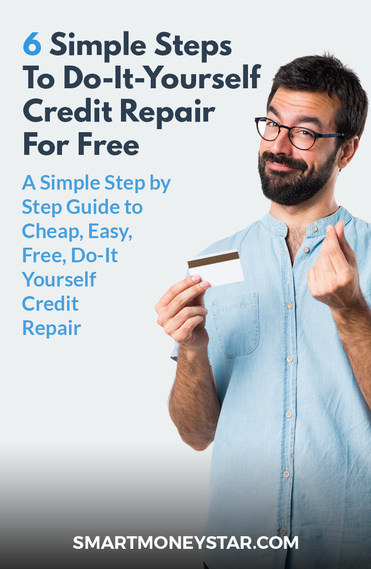 Guide 6 simple steps to do it yourself credit repair for free summing it all up solutioingenieria Image collections