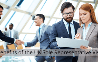 3 Reasons why you will Benefit from the Sole Representative Visa