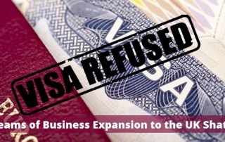 Dreams of business expansion to the UK shatter due to Visa Refusals