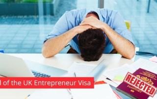 Entrepreneur visa UK: Acceptances Down, Applications Up