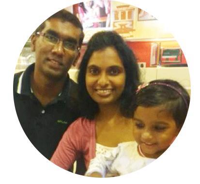 Amalraj and Chriselda on UK Tier 2 Dependant Visa of Dr. Ruchi Nadar