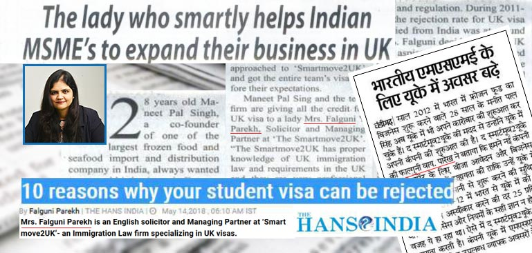 The lady who smartly helps Indian MSME's to expand business in UK