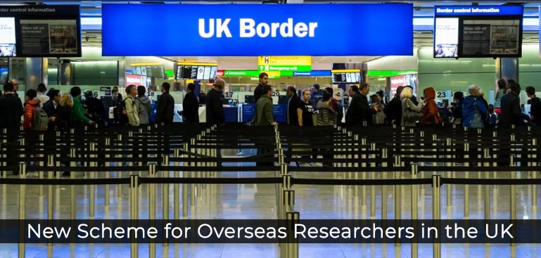 UK Immigration update: New scheme for overseas researchers in the UK