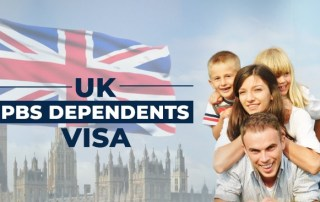 Visa consultants in Chandigarh for your UK PBS Dependents Visas