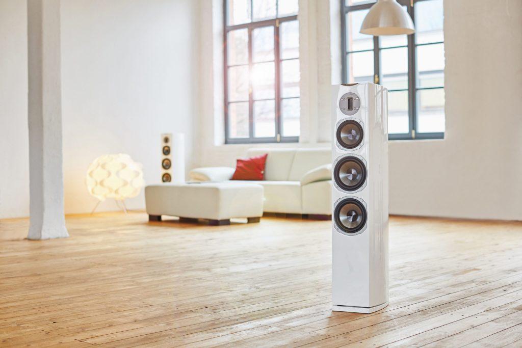 Mit hochwertigen Lautsprechern sorgen HiFi-Anlagen für einen perfekten Klanggenuss.