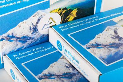 Mailbox box carton pour la communication