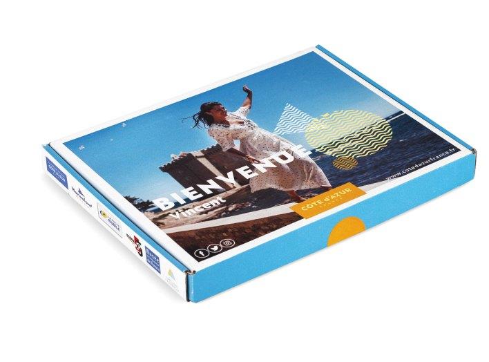 box courrier adressé - welcome box