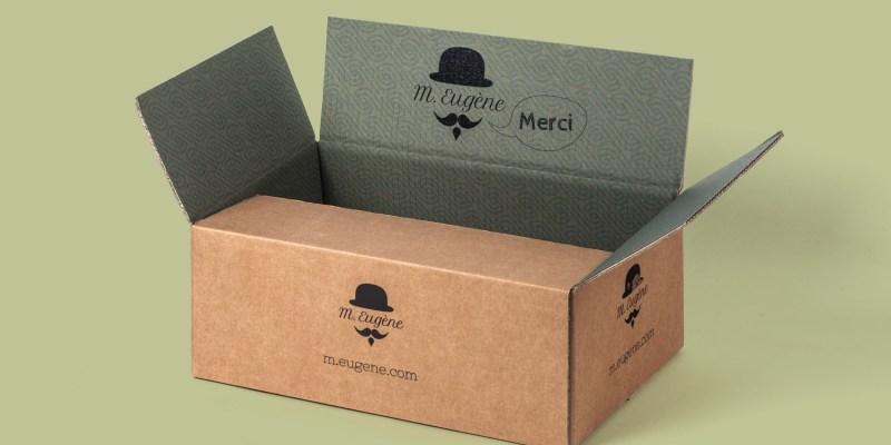 Emballages carton avec impression intérieure