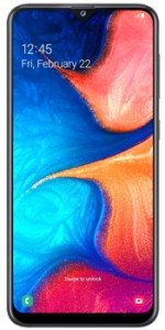 Samsung Galaxy A20 - best mobiles under 30000 in pakistan