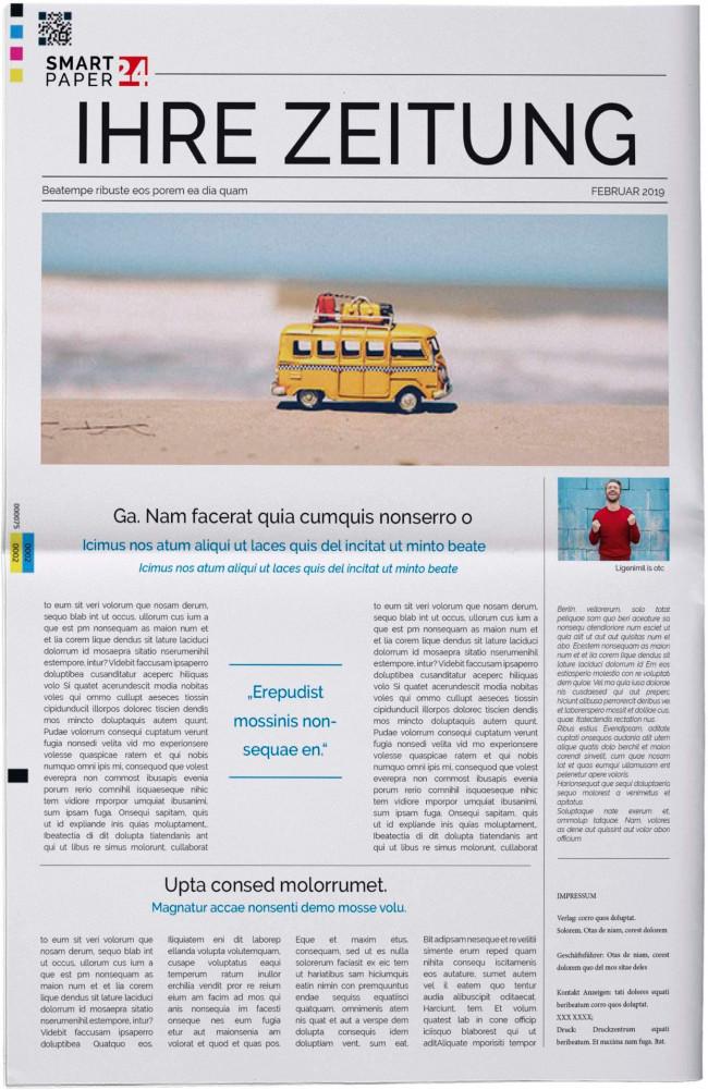 SMARTPAPER ONE - Jetzt online Ihre persönliche Zeitung erstellen