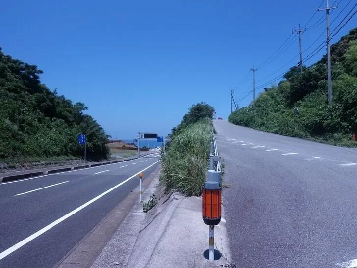 角島大橋のオススメ撮影スポットを撮影した写真