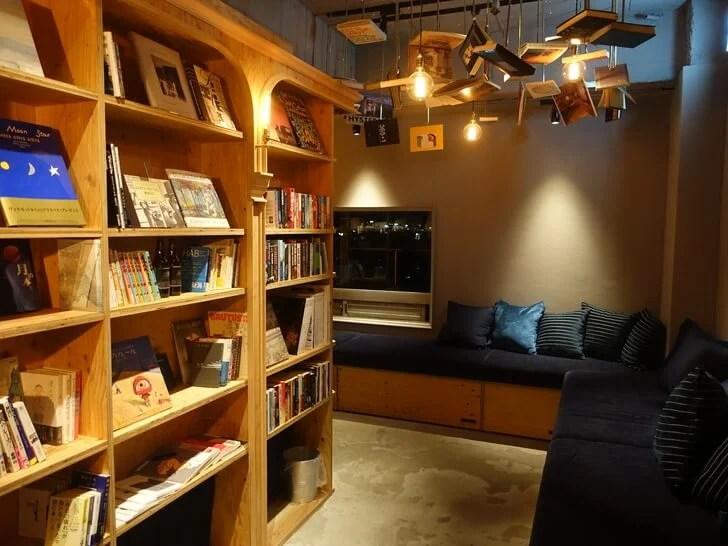 「BOOK AND BED TOKYO 京都店」の店内の写真