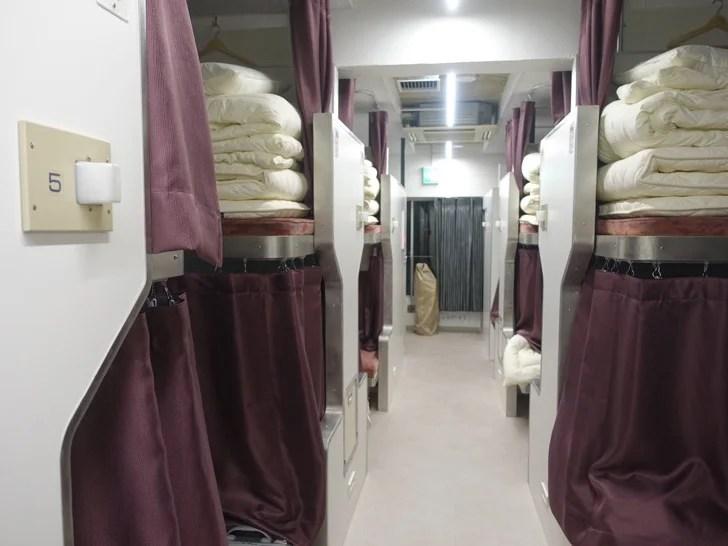 宿泊した部屋の写真
