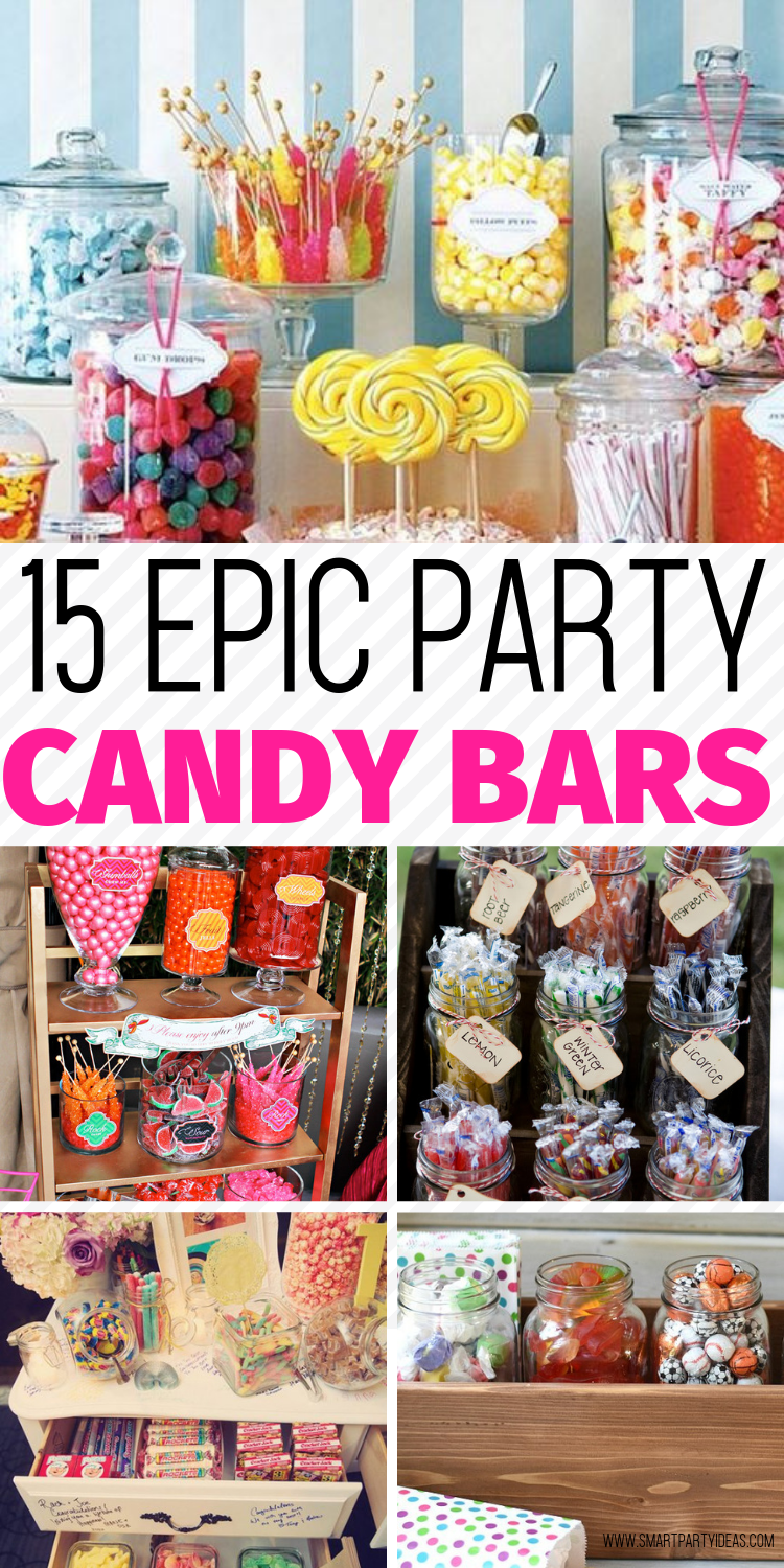 Candy Bar Ideas For Party