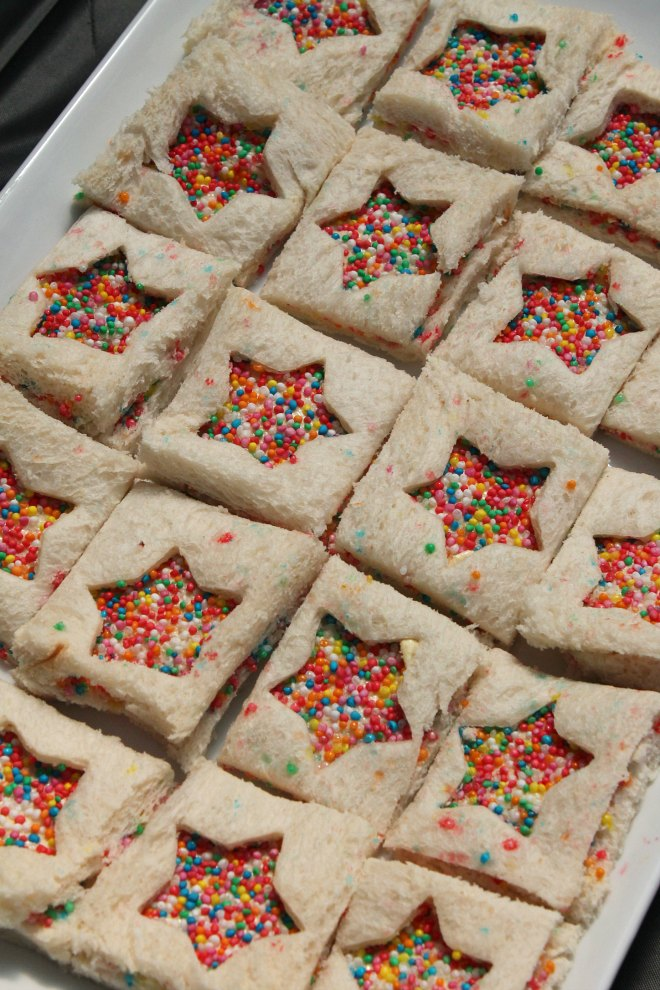 Easy fairy bread