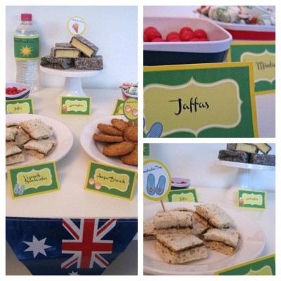 Australia Day Themed Party & Party Printables