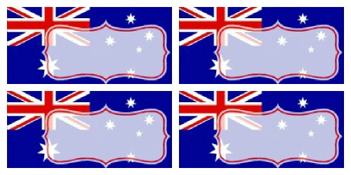 Food Tent Australia Day Printables