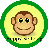 Monkey Party Printables
