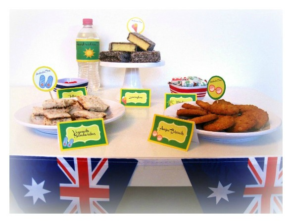 Australia Day Themed Party Amp Party Printables
