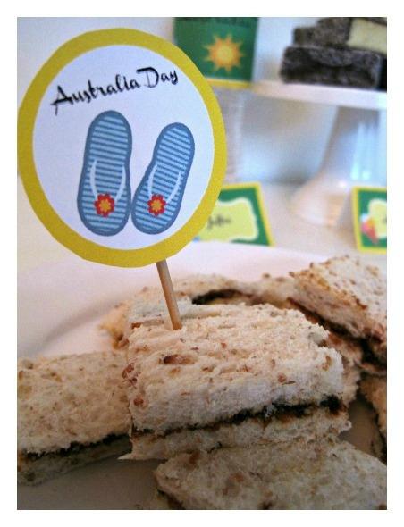 Vegemite Sandwiches