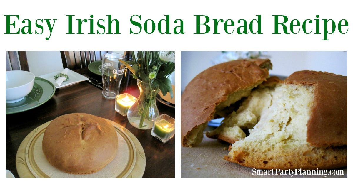 This easy to make soda bread recipe is perfect for your St Patrick's Day celebrations. It tastes delicious and is the perfect accompaniment to stew.