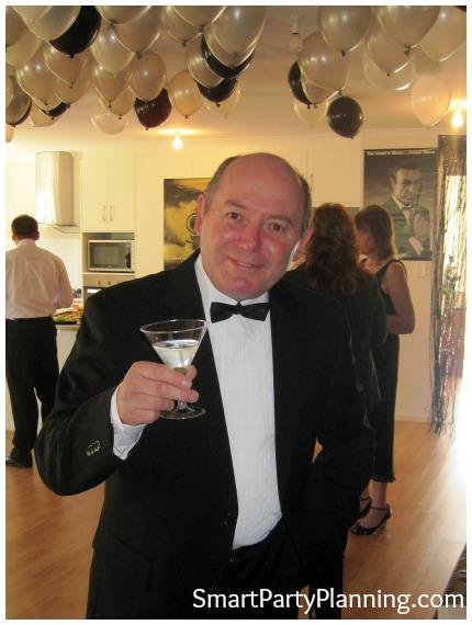 James Bond Theme Party attire
